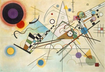 abstract Oil Painting - Composition VIII Expressionism abstract art Wassily Kandinsky