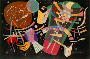 abstract Oil Painting - Composition X Expressionism abstract art Wassily Kandinsky