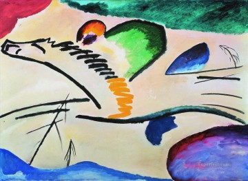 Wassily Kandinsky Painting - Lyrically Wassily Kandinsky
