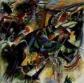 Ravine Improvisation Expressionism abstract art Wassily Kandinsky