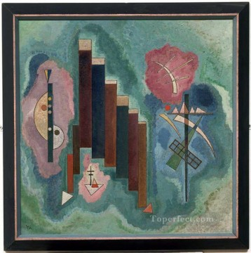 Wassily Kandinsky Painting - Downwards Wassily Kandinsky