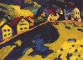 Houses at Murnau Wassily Kandinsky