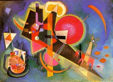 In Blue Wassily Kandinsky Oil Paintings