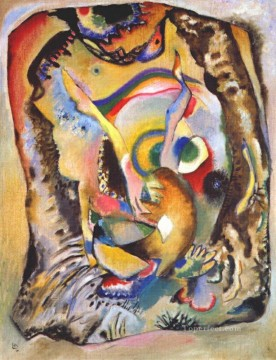painting Oil Painting - Painting on light ground Wassily Kandinsky