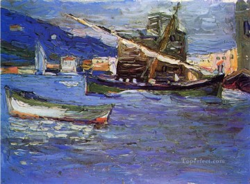 Rapallo Grauer day Wassily Kandinsky Oil Paintings