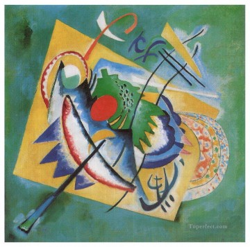Red Oval Wassily Kandinsky Oil Paintings