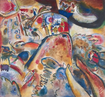 Small Pleasures Wassily Kandinsky Oil Paintings