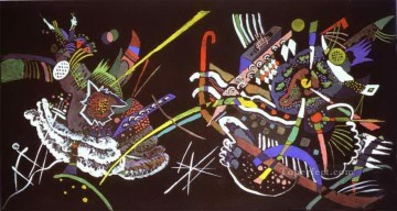 Wassily Kandinsky Painting - draft for mural in the unjuried art show wall b 1922 Wassily Kandinsky