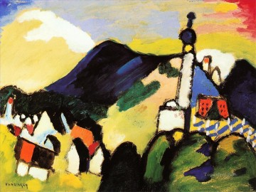 unknown2 Wassily Kandinsky Oil Paintings