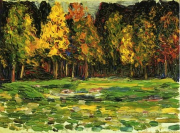 Forest edge Wassily Kandinsky Oil Paintings