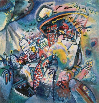 Moscow I Moskau I Wassily Kandinsky Oil Paintings