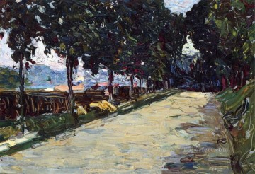 Park of St Cloud Wassily Kandinsky Oil Paintings