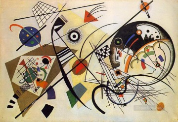 Transverse Line Wassily Kandinsky Oil Paintings