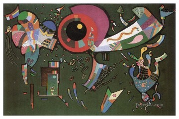 Wassily Kandinsky Painting - Around the circle Wassily Kandinsky