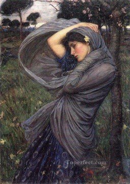 female Works - Boreas JW Greek female John William Waterhouse