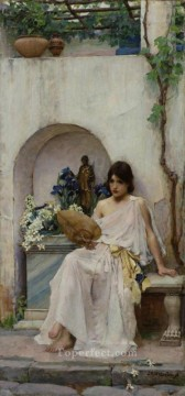 female Works - Flora Greek female John William Waterhouse