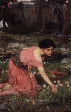 william art painting - Flora JW Greek female John William Waterhouse