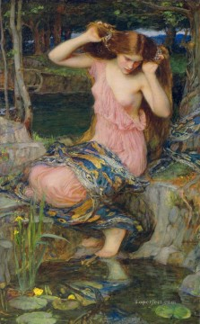 Water Works - Lamia Greek female John William Waterhouse