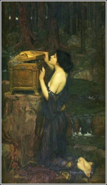 female Works - Pandora Greek female John William Waterhouse