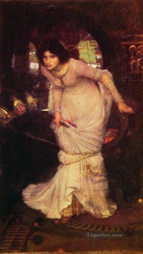 william art painting - The Lady of Shalott Greek female John William Waterhouse