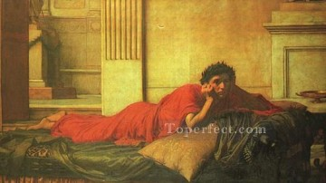 Mother Art - the remorse of nero after the murdering of his mother JW Greek John William Waterhouse
