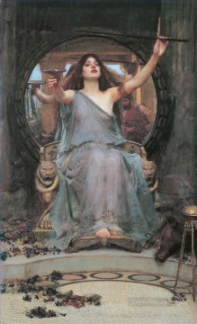 Water Works - Circe offering the Cup to Ulysses Greek female John William Waterhouse