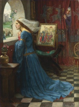 female Works - Fair Rosamund Greek female John William Waterhouse