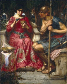 william art painting - Jason and medea FR Greek female John William Waterhouse