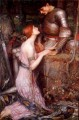 Knight Greek female John William Waterhouse