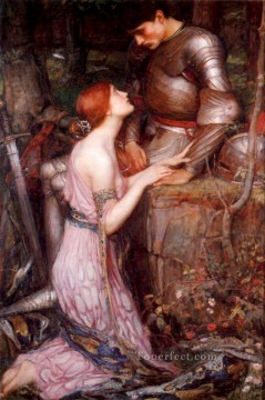 Night Art - Knight Greek female John William Waterhouse