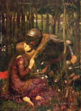 william art painting - La belle dam sans mercie Greek female John William Waterhouse