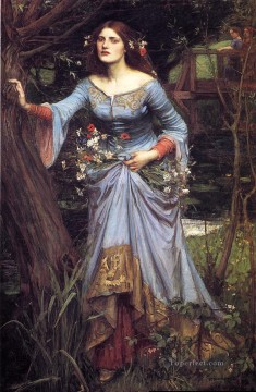 william art painting - Ophelia Greek female John William Waterhouse