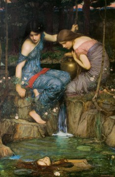 william art painting - Women with water jugs Greek female John William Waterhouse