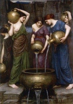 william art painting - The Danaides Greek female John William Waterhouse