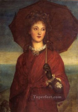 Eveleen Tennant later symbolist George Frederic Watts Oil Paintings