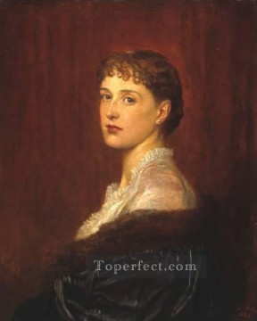 Mrs Arthur Sassoon George Frederic Watts Oil Paintings