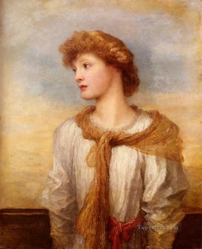 Portrait Of Miss Lilian Macintosh George Frederic Watts Oil Paintings