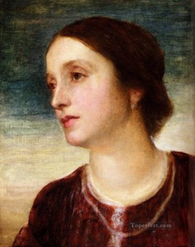 Countess Art - Portrait Of The Countess Somers George Frederic Watts