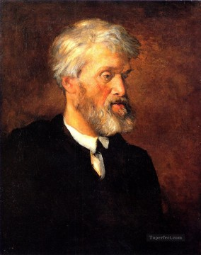 Carl Art Painting - Portrait of Thomas Carlyle George Frederic Watts