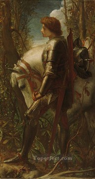 Sir Galahad symbolist George Frederic Watts Oil Paintings