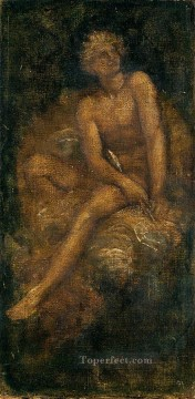 Study forHyperion symbolist George Frederic Watts Oil Paintings