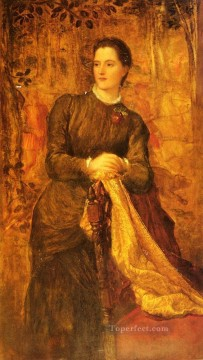mary Painting - The Honourable Mary Baring symbolist George Frederic Watts