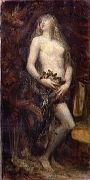 The Temptation of Eve symbolist George Frederic Watts Oil Paintings