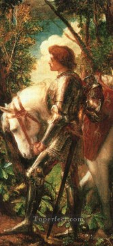 Watts Sir Galahad symbolist George Frederic Watts Oil Paintings