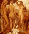 The Judgement Of Paris symbolist George Frederic Watts