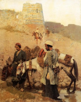 Persian Painting - Traveling in Persia Persian Egyptian Indian Edwin Lord Weeks