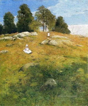 Summer Art - Summer Afternoon Shinnecock Landscape Julian Alden Weir