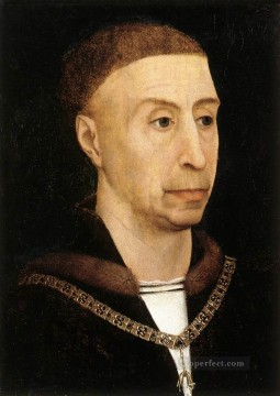 Rogier van der Weyden Painting - Portrait of Philip the Good 1520 Rogier van der Weyden