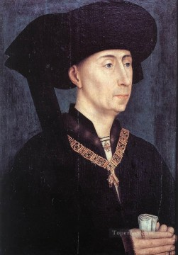 Rogier van der Weyden Painting - Portrait of Philip the Good Rogier van der Weyden