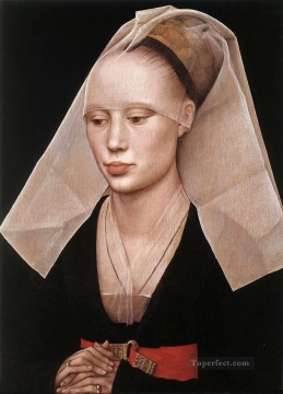 Rogier van der Weyden Painting - Portrait of a Lady Netherlandish painter Rogier van der Weyden